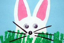 thema: lente/pasen knutselideeën / by Juf Ineke