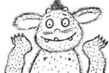 thema: Gruffalo allerlei / by Juf Ineke