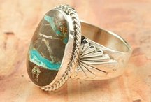 Turquoise Rings / Beautiful one of a kind Turquoise Rings. / by Treasures of the Southwest.com