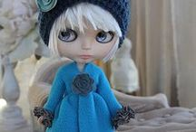 BIG EYES (weird but I like them) / Blythe.....I find these dolls a bit creepy in a weird way, but I do like them!!  The color and expression gives them a lot of character and makes me intrigued by them. / by Havasu Blue (dEE)