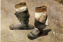 Art etc. Brown, Beige, White TWO / by Roberta Bronwyn