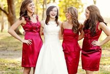 Bridesmaids / Pretty young ladies to make your day prettier... / by Mine Forever