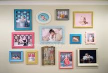 Wall Display Ideas / by Caralee Case Photography