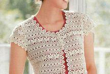 Crochet Adult Tops / by Bonnie Parsons