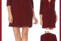 Robe courte femme / Séléction de robes courtes ou mi longues disponibles dans le shopping de Laura / by Mode femme