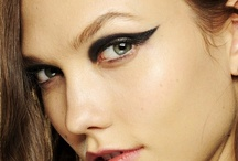 Graphic Liner  / graphic lines add bold edge and put a modern twist to beauty / by Sonia Kashuk Inc.