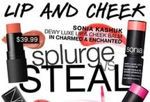 Splurge vs Steal / Achieve the look with affordable luxuries by Sonia Kashuk. / by Sonia Kashuk Inc.