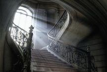 UNA MIRADA AL PASADO / No son las ruinas ni el abandono... es la sensación que evoca vidas pasadas, llenas de esplendor y grandes sueños, impregnadas en cada muro y cada detalle... / by NATALIA ESPER