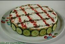 salata (yogurtlu) salad / by Şiir açmış gökyüzü..