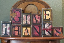 My Give Thanks Crafts!  / by Lori Ainsworth