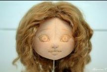 DOLLS EYES FACES BODIES AND TIPS / by Nina Martine