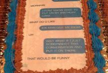 Cakes / For my birthday  / by Jasmin Mahone