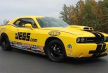 JEGS Stock Eliminator Mopar Dodge Challenger Drag Pak / by JEGS Performance