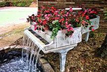 ♥Patio Shabby Decor & Garden♥ / ✻ Ꮙ.¸¸.Ꮙ.¸¸.Ꮙ ' ~ ~ ' Ꮙ.¸¸.Ꮙ.¸¸.Ꮙ ✻  / by ✻ღ✻Rita Rorich✻ღ✻