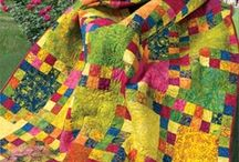 Quilting - Amazing Quilts / Amazing Quilts that caught my eye, art quilts, just awesome Quiltness / by Rebecca Moore