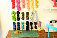 i love yarn: organization / by I Love Yarn Day