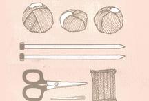 i love yarn: illustrations / by I Love Yarn Day