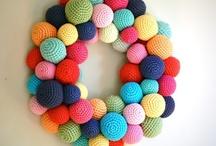 i love yarn: wreaths / by I Love Yarn Day