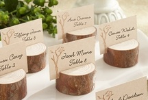 Table Numbers + Placecards / by Spring Lake Events