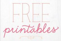 DIY Printables, Fonts & Design  / Everything from fonts to printable material.  / by Eileen C