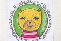 SC 167 - Cadre / Thème hébergé par Isabelle Kessedjian / by Serial Crocheteuses