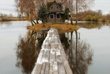 Cabins Cottages and Huts that I love / by Ruth Dowd