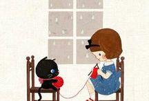 #ARTE DE SONHAR # / Trabalhos em crochê e tricô... / by Verônica Phoebe