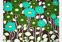 Vintage fabric / by El Ann