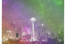 50 Shades of Seattle / 50 Shades of Seattle features my digital art available on many products on sites like Zazzle, Cafepress, theKase and elsewhere. Great unique gift ideas for fans of Seattle and/or 50 Shades of Grey (FSoG). / by Christine aka stine1