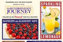 July 4th Culinary Inspiration / Celebrate July 4th with flavor! Enjoy holiday recipes brought to you by The Hundred-Foot Journey.  / by The Hundred-Foot Journey