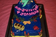 Mermaid Birthday Party/Cake ideas / by Jennifer Penar