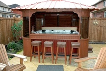 For The Home / Dozens of ideas on creating your own indoor or outdoor oasis with a hot tub.  / by ThermoSpas Hot Tub Spas