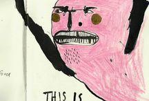 Knasiga/roliga illustrationer / by Isabella Enarsson