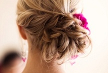 Hair + Updos / by One Love Organics