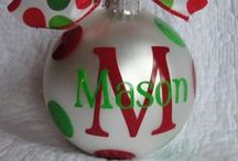 CRAFTS--CHRISTMAS ORNAMENTS / by Melissa Robinson