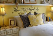 Home Decor Ideas / by Sandra Rummel