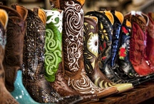 Boots We Love / Cowboy boots are the quintessential western item. You can have the jeans, hat and vest, but without the boots you're just not a real cowboy. This board is dedicated to the boots we love - well worn and fancy! / by F.M. Light and Sons