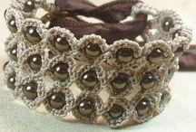 Thread/Dazzle Yarn Jewelry / by Sandra Rummel