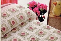 Crochet for the Bedroom / A selection of Crochet for the Bedroom. Visit my website for my own originally designed FREE crochet patterns www.patternsforcrochet.co.uk / by Patternsforcrochet (a free pattern website)
