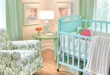 Baby Cribs & Baby Rooms / by Deborah Jennings