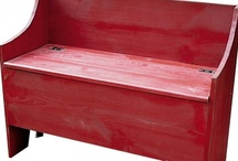 Benches / by Sawdust City LLC