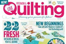 Inside Issue 4 / What's going on  in issue 4 of Love Patchwork & Quilting, on sale 8th January! #patchwork #quilting #sewing #fabric / by Love Patchwork & Quilting Magazine