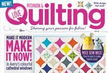 Inside Issue 6 / Issue 6, on sale 5th March! http://www.lovepatchworkandquilting.com/magazine/look-inside-issue-6 / by Love Patchwork & Quilting Magazine