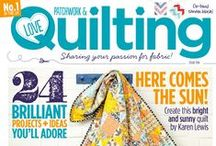 Inside issue 10 / by Love Patchwork & Quilting Magazine