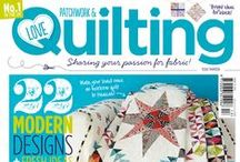 Inside issue 13 / by Love Patchwork & Quilting Magazine