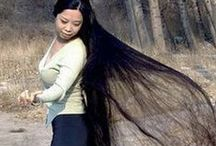 Long,long hair. / by Luci Pitta