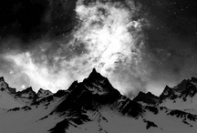 Mountains in b&w / by Maite Pascual