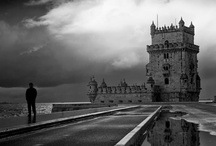 Lisbon (Portugal) in b&w / by Maite Pascual