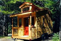 Tiny Houses To Go On Wheels! / by Tumbleweed Tiny House Company