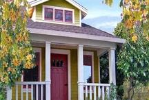 Tiny Cottage Homes / by Tumbleweed Tiny House Company